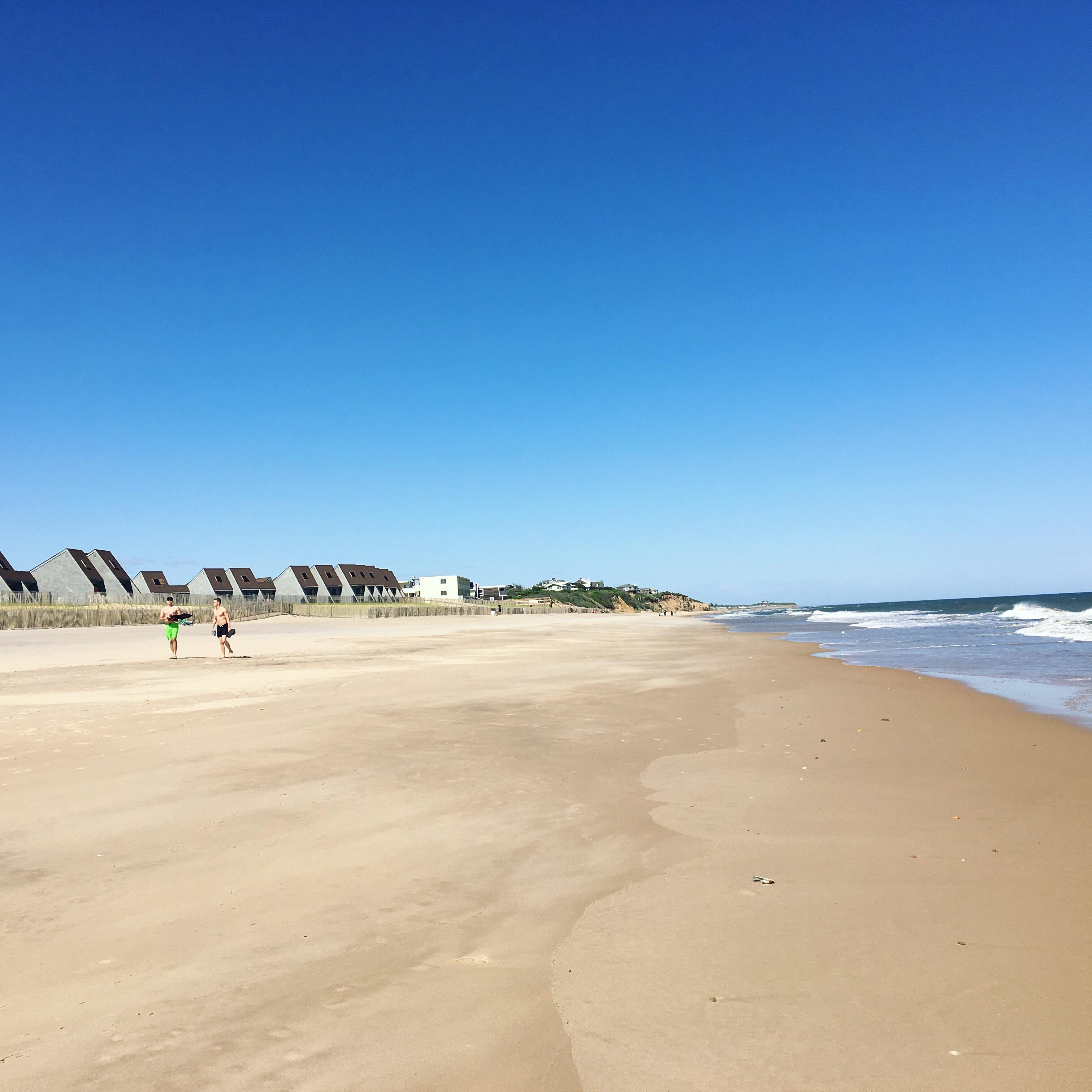 Plaże w sezonie