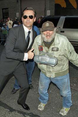 Jon Hamm, Radioman