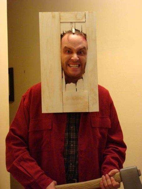 "Jacka Nicholsona w ""Lśnieniu"""