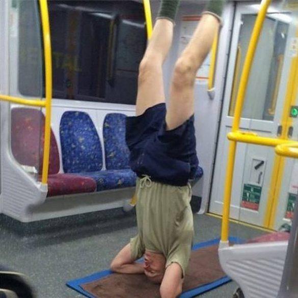 Joga w metrze
