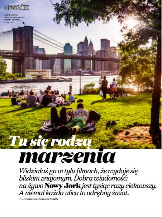 Nowy Jork – tu się rodzą marzenia