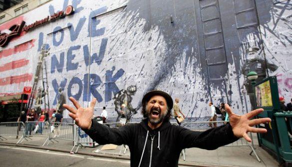 Mr. Brainwash & galerie w Nowym Jorku