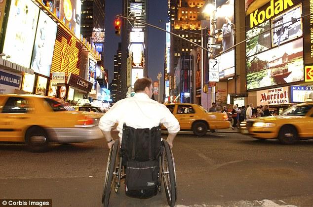 Nowy Jork na wózku inwalidzkim