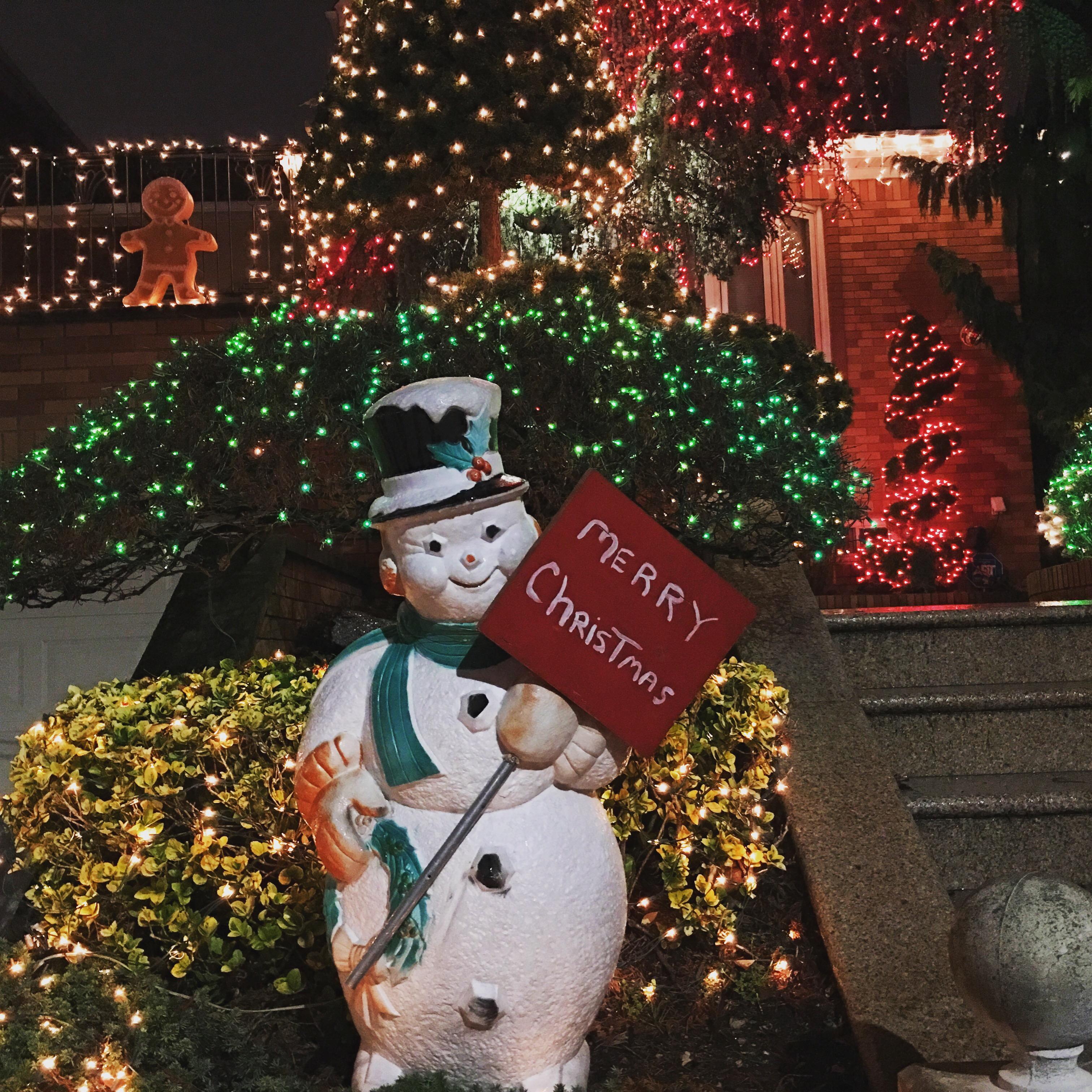 Dekoracje świąteczne Dyker Heights