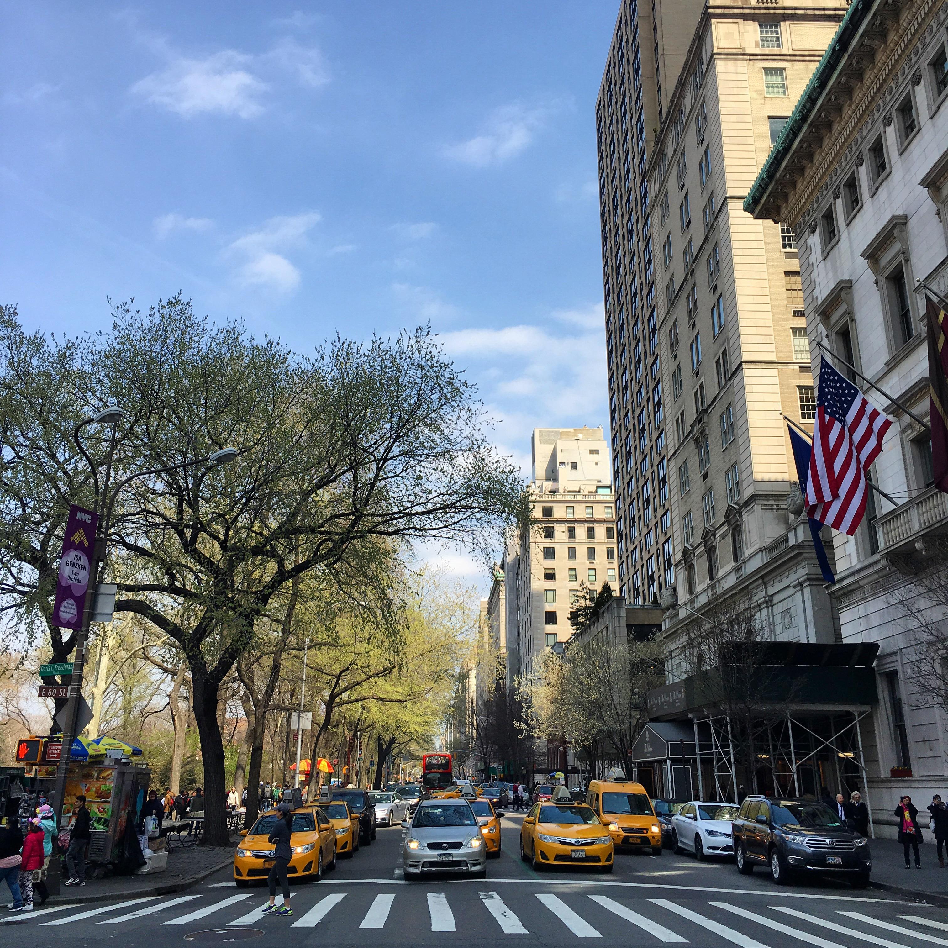 Wiosna w Nowym Jorku