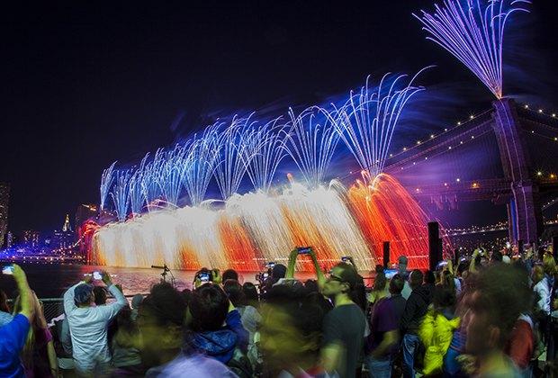 Pokaz fajerwerków z okazji 4 lipca