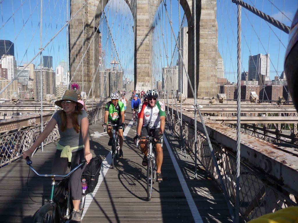 Rowerem po Nowym Jorku