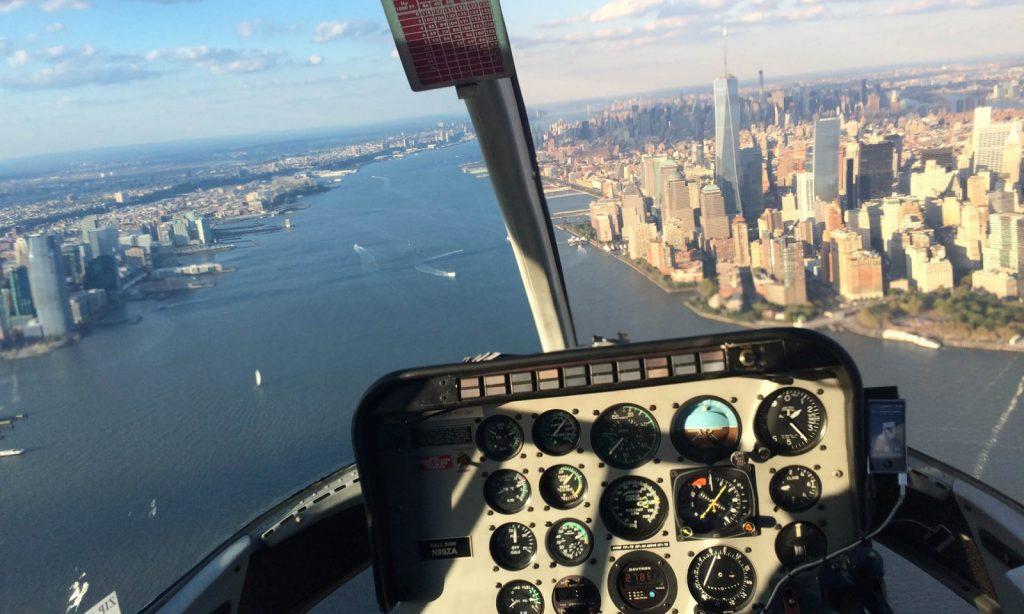 Loty helikopterem nad Nowym Jorkiem