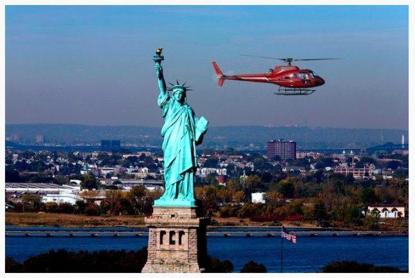 Lot helikopterem nad Nowym Jorkiem
