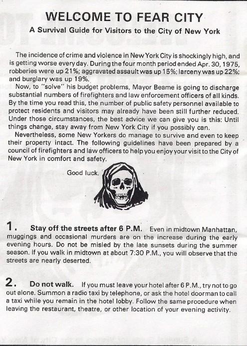 Nowy Jork w latach 70. i 80.