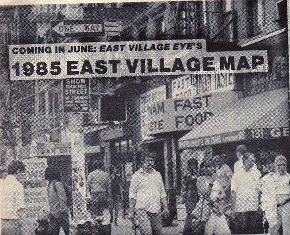 East Village, St. Marks Place (by Robbie Chafitz)