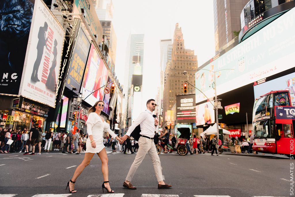 Sesja ślubna w Nowym Jorku